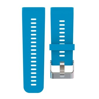 Harga Silicone Watch Strap for Garmin Vivoactive HR(Blue) - intl