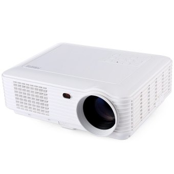 Harga POWERFUL SV - 228 Home Theater 4000 Lumens 1280 × 800 Pixels Multimedia LCD Projector - UK PLUG (WHITE)