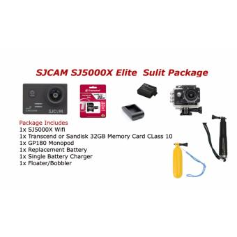 Harga SJ5000X Elite Wifi Action Camera Sulit Package
