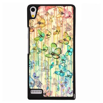 Y&M Beautiful Butterflies Phone Case for Huawei Ascend P6 (Black) Price Philippines