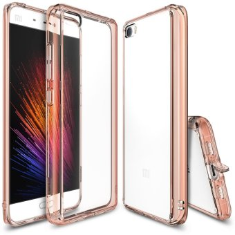 Harga Ringke Fusion TPU Bumper Case for Xiaomi Mi5 (Rose Gold)