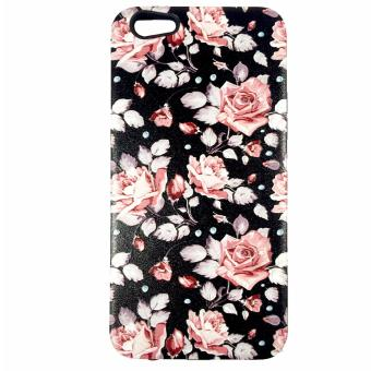 Harga DualPro Hard Shell PC Case with Floral Paint for Oppo F3 Plus #4
