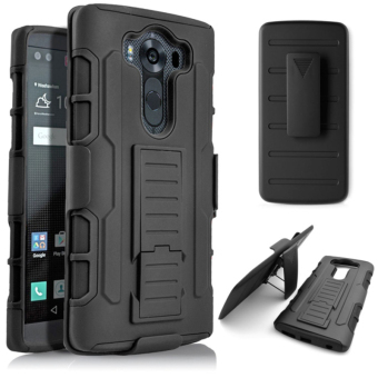 Moonmini 3 in 1 Anti-slip Shockproof Back Case Cover for LG V10 (Black) Price Philippines