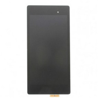 Harga lcd screen Complete Screen lcd display touch screen replacement parts black for nexus 7 2