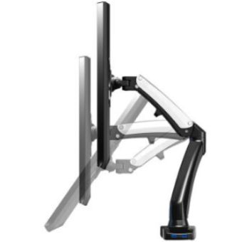 Harga NB silver gas strut LCD monitor and TV table bracket mount holder NB F100 for 17~27inch LCD or TV - intl