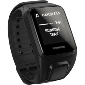 Harga TomTom Spark Music Fitness Watch (Black) - intl