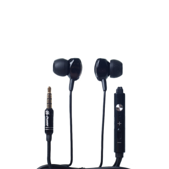 Harga N-Power NP-E03 Subwoofer Wire In-Ear Headset (Black)