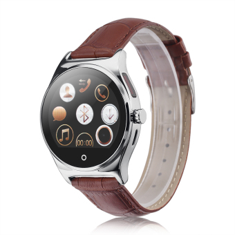 RWATCH R11 Smart Watch for Android IOS (Silver) - Intl Price Philippines