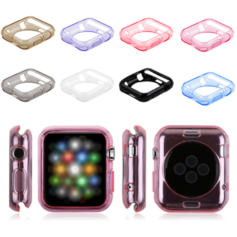 8Pcs TPU Watch Case for Apple Watch iWatch Sport Edition 38mm (Multicolor) Price Philippines