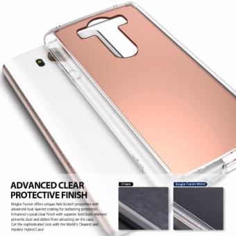Harga Ringke Mirror PC/TPU Case for LG V10 (Rose Gold)