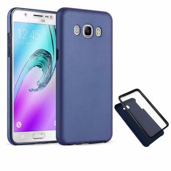 Harga Full Cover 360 Shockproof Case for Samsung Galaxy J5 2016 - NavyBlue