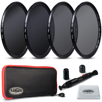 Rangers ND2 ND4 ND8 ND16 Filter Set 58mm Neutral Density Slim HD MRC RA18 4pcs Price Philippines