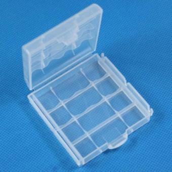 Battery Case Holder Box LR6 LR3 AAA AA Rechargeable Battery Clear Case cover Price Philippines
