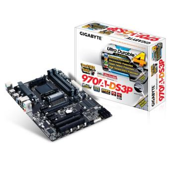 GIGABYTE GA-970A-DS3P (rev. 2.0) AM3+ AMD 970 SATA 6Gb/s USB 3.0 ATX AMD Motherboard Price Philippines