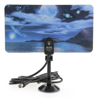 Sea And Sky Digital Indoor Tv Antenna Aerial Hdtv Dtv Box Sea And Sky (Intl) Price Philippines