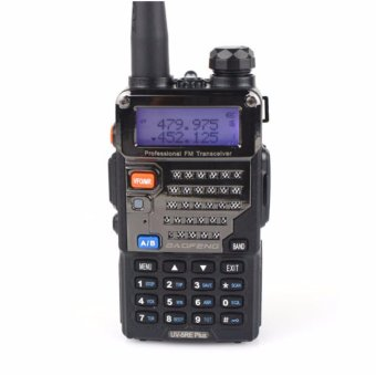 Harga Two way radio dual band UHF VHF, 128 channels programmable UV5RE Baofeng brand professional type 2 way radio