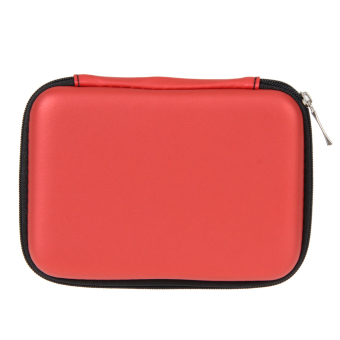 +ACI-Vakind 2.5+ACIAIg- External USB Hard Drive Disk Carry Case Cover Pouch Bag for PC (Red) +ACI- - intl Price Philippines