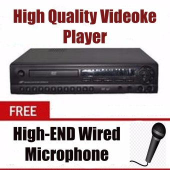 Hyundai HDT-98i DVD Player (Black) with Free Microphone Price Philippines