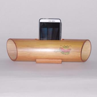 Harga Speaker Bookworm design Table decoration Bamboo (Natural)