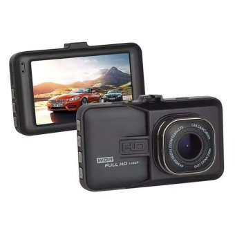 3 Inch Full HD 1080P Dash Cam Hands-Free Night Vision Car Camera Recorder DVR (Black) Price Philippines