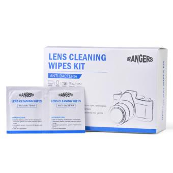 Rangers 100 Pre-Moistened Lens Wipes Ideal Glasses Camera Cleaning Wipes RA102 - intl Price Philippines