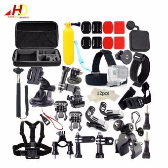 Harga 40 in 1 Accessories Kit for Action Camera Go Pro GoPro 1 2 3 3+ 4