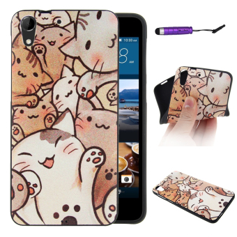 Moonmini Silicone Back Case Cover for HTC Desire 728 (Multicolor) Price Philippines