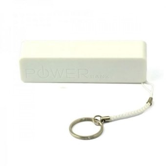 Harga Mini 2600mAh Portable Power Bank (White)