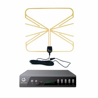 Starcube Digital TV Box with Home Antenna for DTV Price Philippines