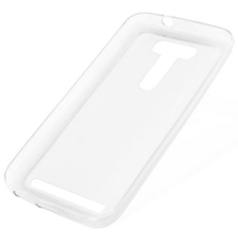 Great Deals TPU Thin Case for ZenFone 2 Laser ZE500KL (Clear White) Price Philippines