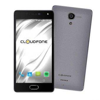 CloudFone Thrill Access 16GB (Grey) with Free Spotify Earphones and Protective Cover Price Philippines