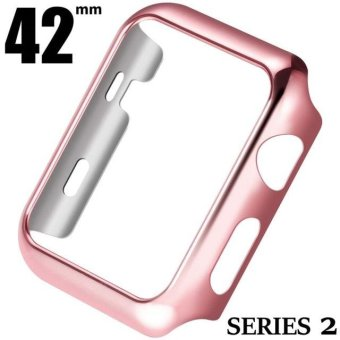 HOCO Apple Watch iWatch Series 2 42mm PC Material Protective Case For Apple Watch iWatch Series 2 42mm (Rose Gold) - intl Price Philippines