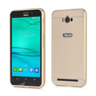Moonmini PC Back Cover Metal Bumper Frame Case for Asus ZenFone Max ZC550KL (Gold) Price Philippines