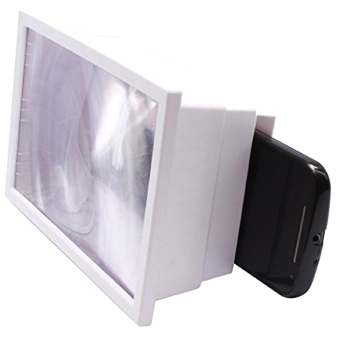 TECH GEAR F2 3D Enlargement Screen Glass Magnifier (White) Price Philippines
