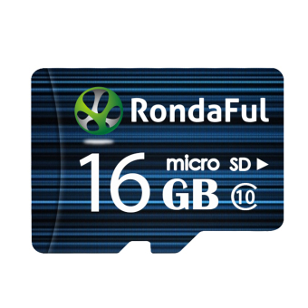 Harga Rondaful micro sd card 16GB class10 Real capacity storage memory card TF card for camera
