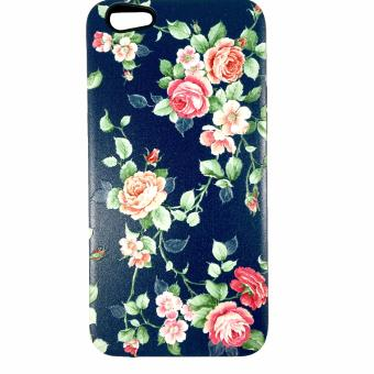 Harga DualPro Hard Shell PC Case with Floral Paint for Oppo F3 Plus #3