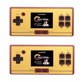 FC-POCKET Classic 8 Bit Game Portable Console Family Computer 600 Games, (Set of 2) (BLACK) Price Philippines