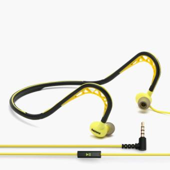 Harga Remax Sports Wired Headset (Yellow)
