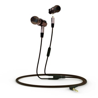 Plextone X46M Detachable HiFi In-ear Earphones with MIC (Black) - Intl Price Philippines