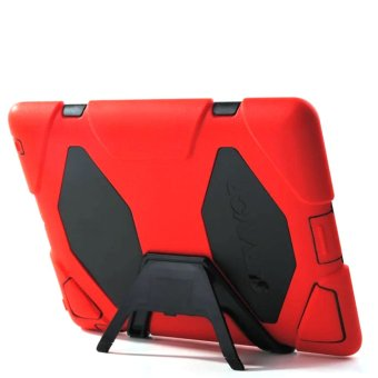 Harga Griffin Survivor Military Silicone Hard Case for iPad 2 /3 /4 (Red)