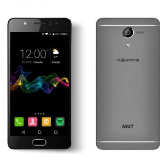 CloudFone Next 32GB (Grey) with Free Jelly Case, Faux Leather Flip Case and Screen Protector Price Philippines