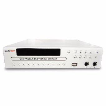 MediaCom MCI Mini Pro DVD Karaoke Player (White) with Free MediaCom MCI 380 Corded Mic Price Philippines