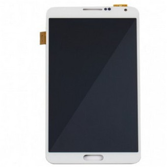 Harga lcd screen touch screen lcd display Complete Screen replacement parts white for samsung galaxy note3 - Intl