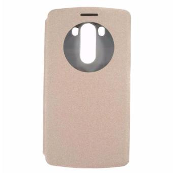 Leather Case for LG G3 (Gold) Price Philippines
