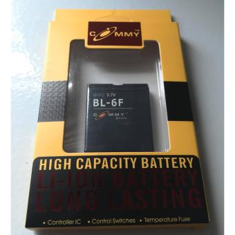 Commy Li-ION Battery For BL-6F 3.7V 900mAh Price Philippines