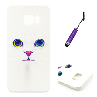 Moonmini Light TPU Soft Case for Samsung Galaxy S6 Edge Plus - Cat Price Philippines