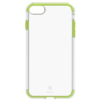 Harga BASEUS Guards TPU + TPE Hybrid Case for iPhone 7 4.7 Double Anti-fall - Green - intl