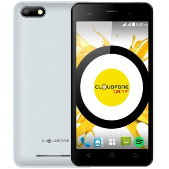 Cloudfone Thrill HD 8GB (Silver) with Free Spotify Earphone and Back Cover Case Price Philippines