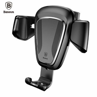 Harga Baseus Phone Car Holder for IPhone 7 6 Samsung S8 Xiaomi Car Air Vent Mount Mobile Phone Holder Stand Soporte Movil Pop Socket - intl