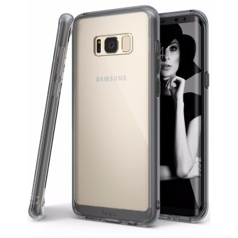 Harga Ringke Fusion Case for Samsung Galaxy S8 Plus (Smoke Black)